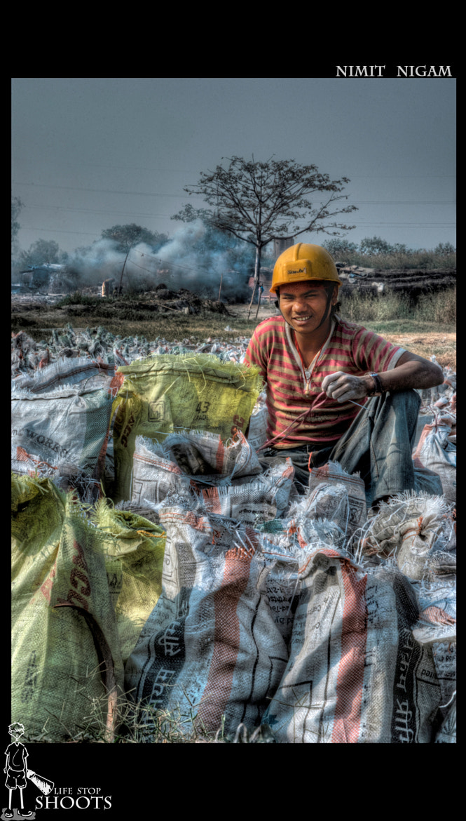 Photograph Construction Worker... by Nimit Nigam on 500px