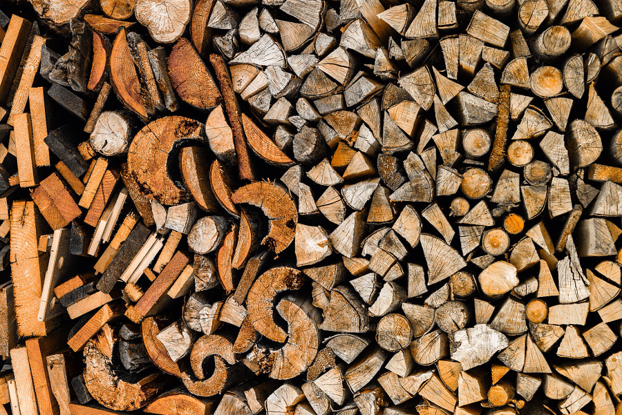 Abstract wood