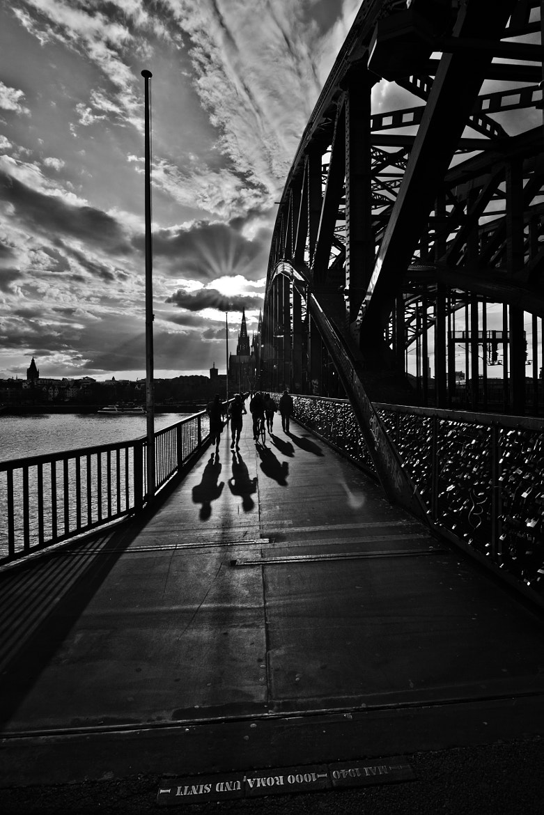 Photograph Hohenzollern Bridge in Cologne by Christian Müller on 500px