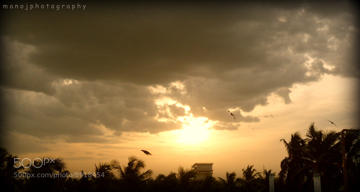 Photograph Clouds and Sun Mixed Effects :) by Manoj Jayaraman on 500px