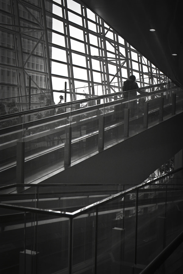 Photograph up escalator  by Nobuo Furuhashi on 500px
