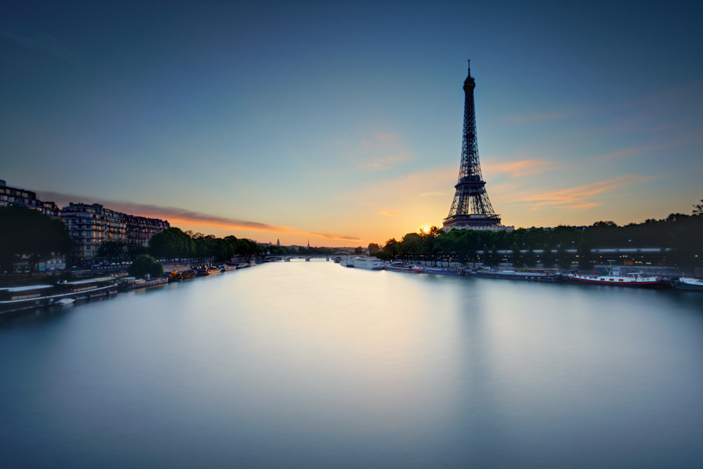 Photograph Sunrise in Paris by Laurent Coppee on 500px