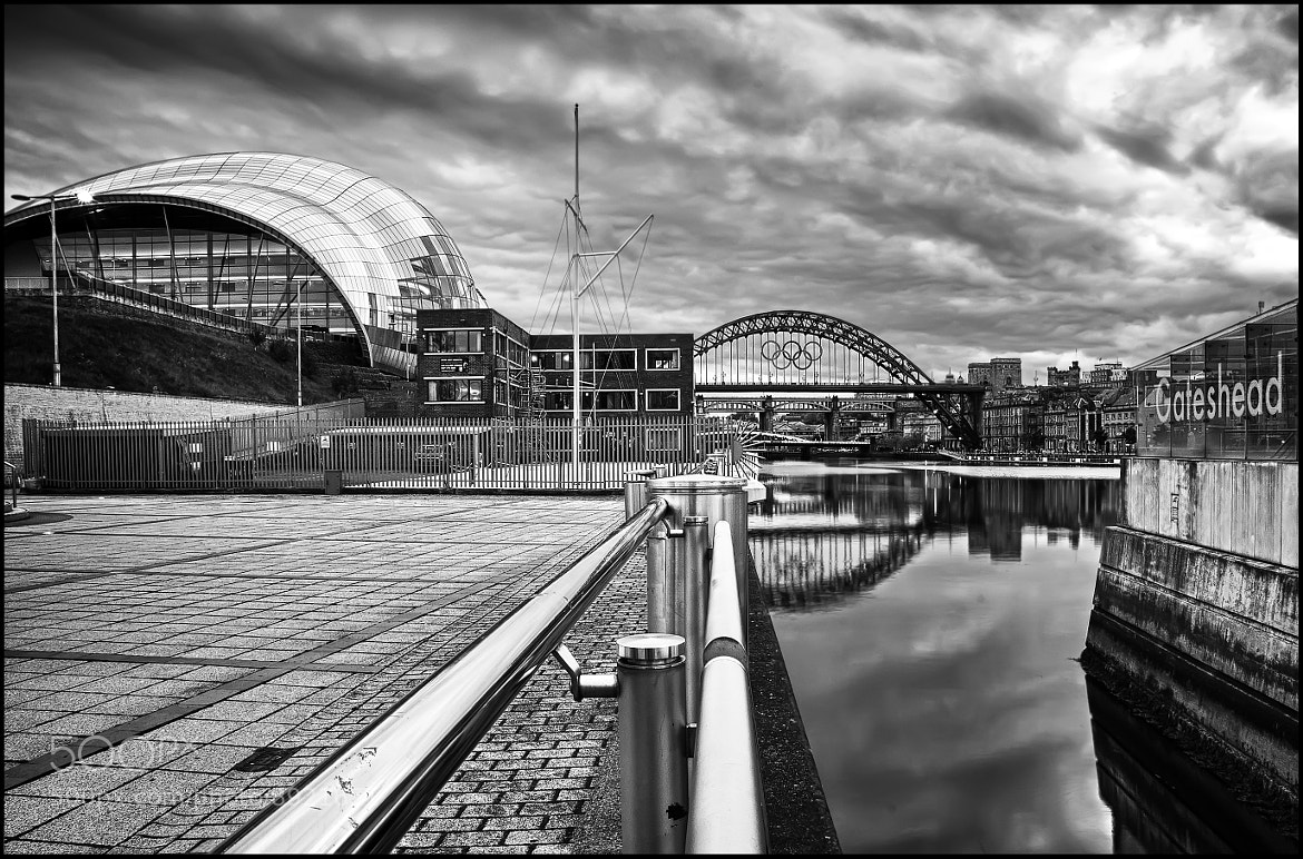 Photograph Olympics Rings on the Tyne by Phil Whittaker on 500px