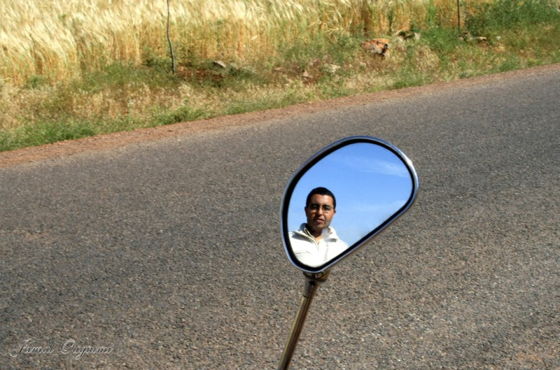 Photograph  the  mirror on the road by Jamal Ouguimi on 500px