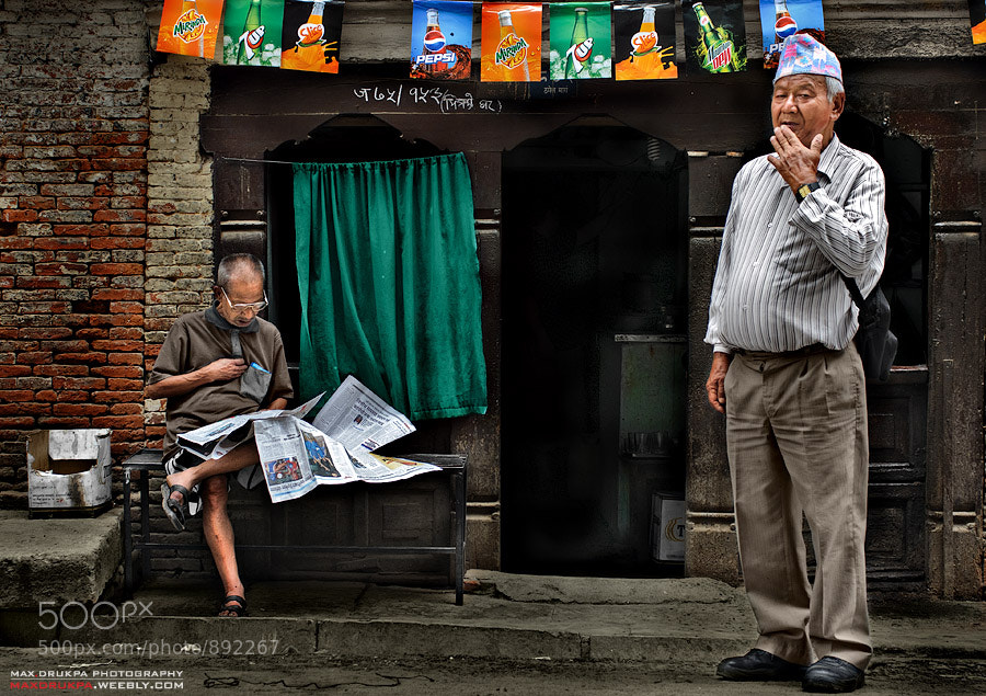 Photograph Day reading... by Max Drukpa on 500px