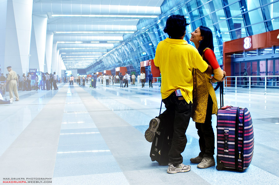 Photograph Delhi Airport by Max Drukpa on 500px