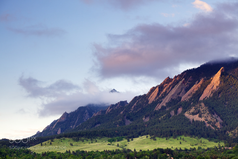 Photograph Boulder Flatirons by Ben Klaus on 500px