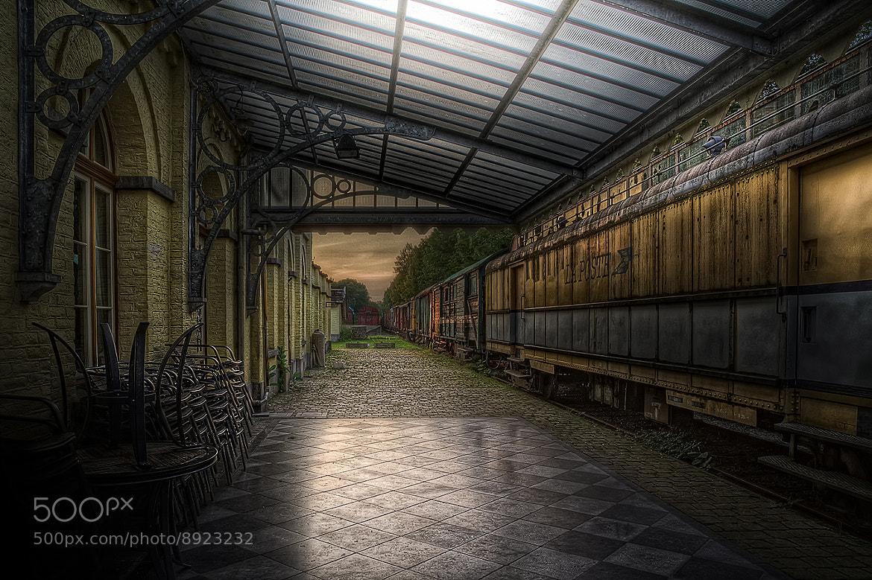Photograph closed railroad depot by Eva Czorny on 500px