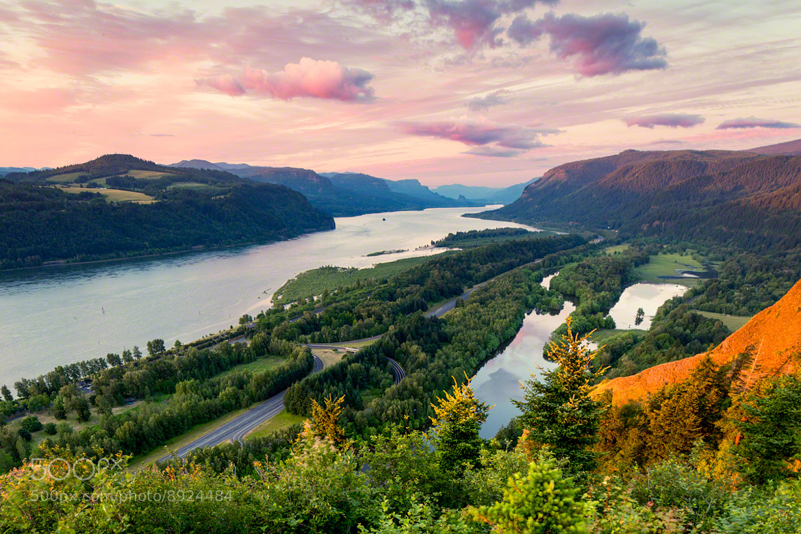 Photograph The Columbia River Gorge by Nicole S. Young on 500px