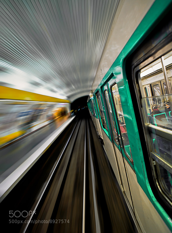 Photograph Metro speed by Cal Redback on 500px