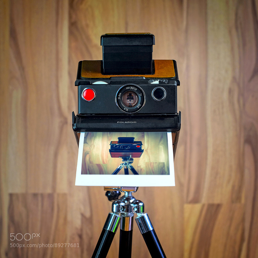 Photograph CameraSelfies #8 - SX70 by Juergen Novotny on 500px