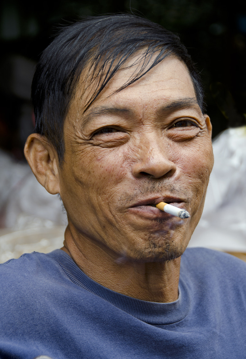 Photograph Thai smoker by Joe Routon on 500px