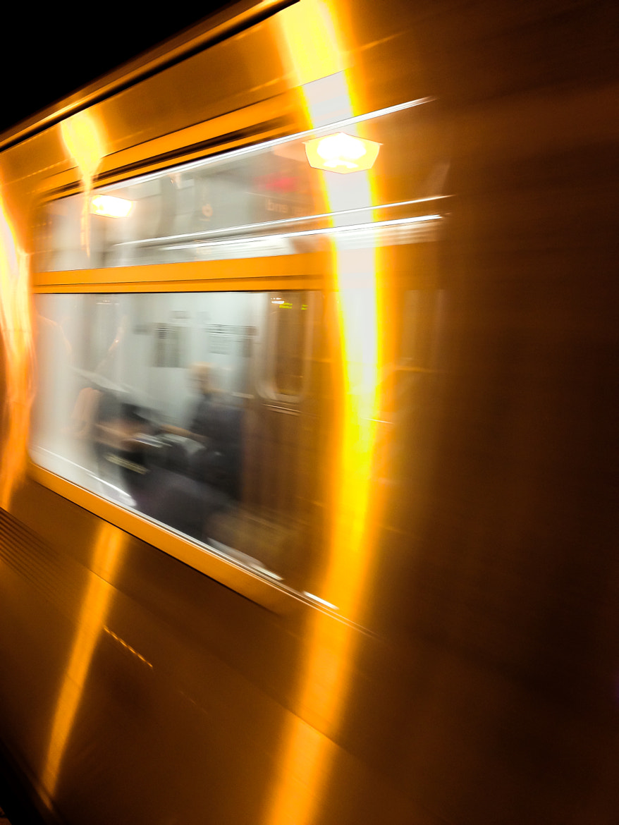 Photograph Subway Car Reflection by Kurt Nelson on 500px