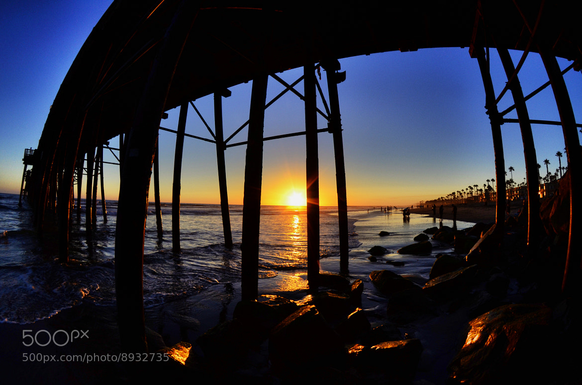 Photograph Sunset at Oceanside Pier - June 26, 2012 by Rich Cruse on 500px