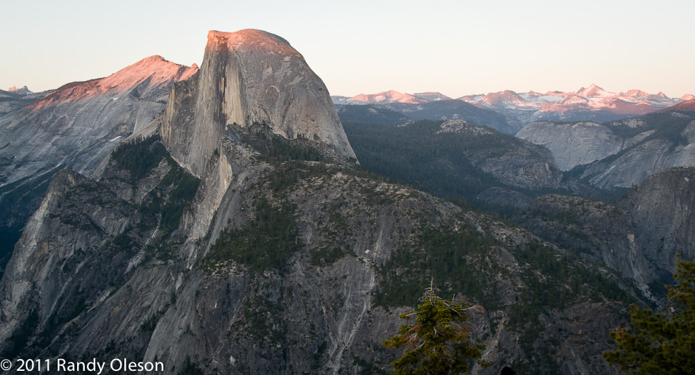 Photograph Half Dome at sunset by Randy Oleson on 500px
