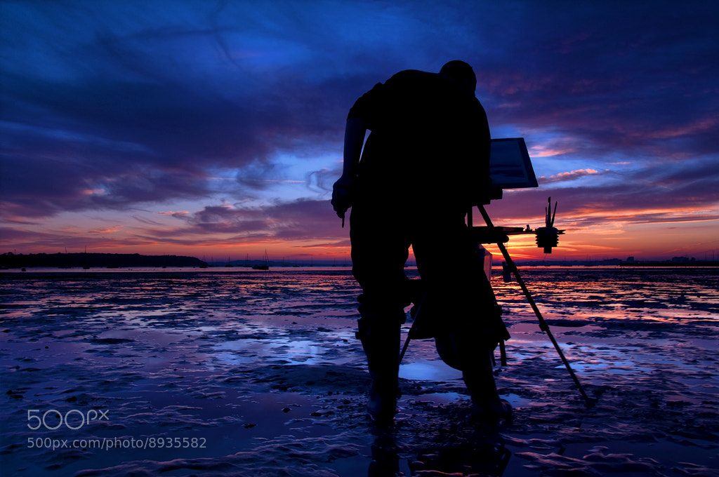 Photograph The Landscape Artist by David Mar Quinto on 500px