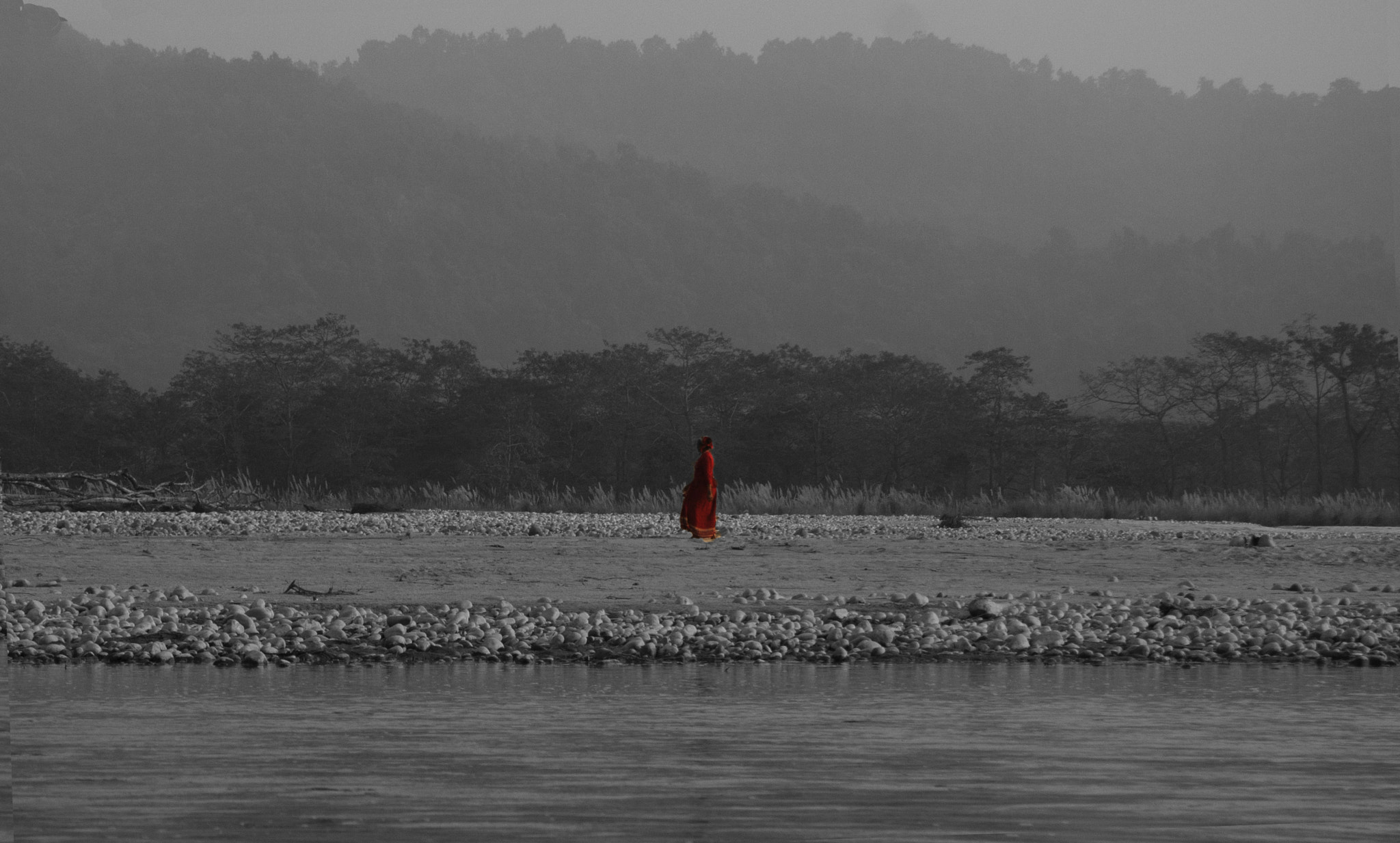 Photograph Lady In Red by Aditya Vyas on 500px
