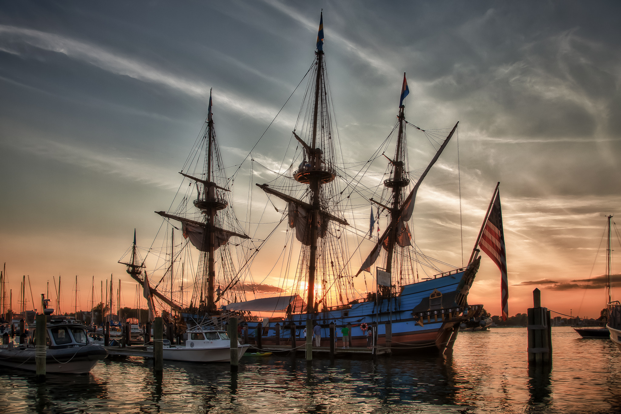 Photograph Kalmar Nyckel - Dockside by Dave Wright on 500px