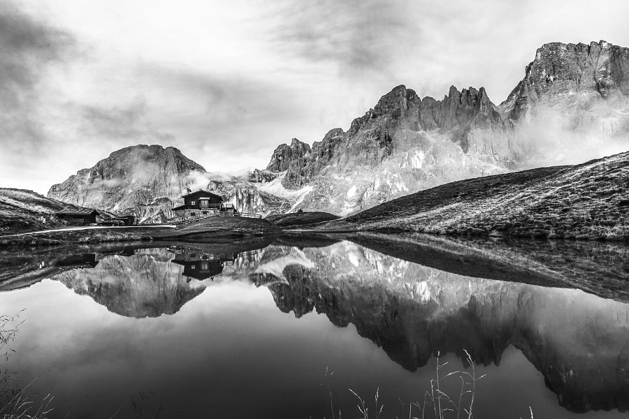 Early Morning in the Dolomites, Italy