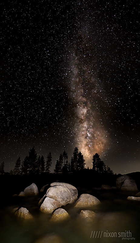 Photograph Sand Harbor Milky Way by Nixon Smith on 500px