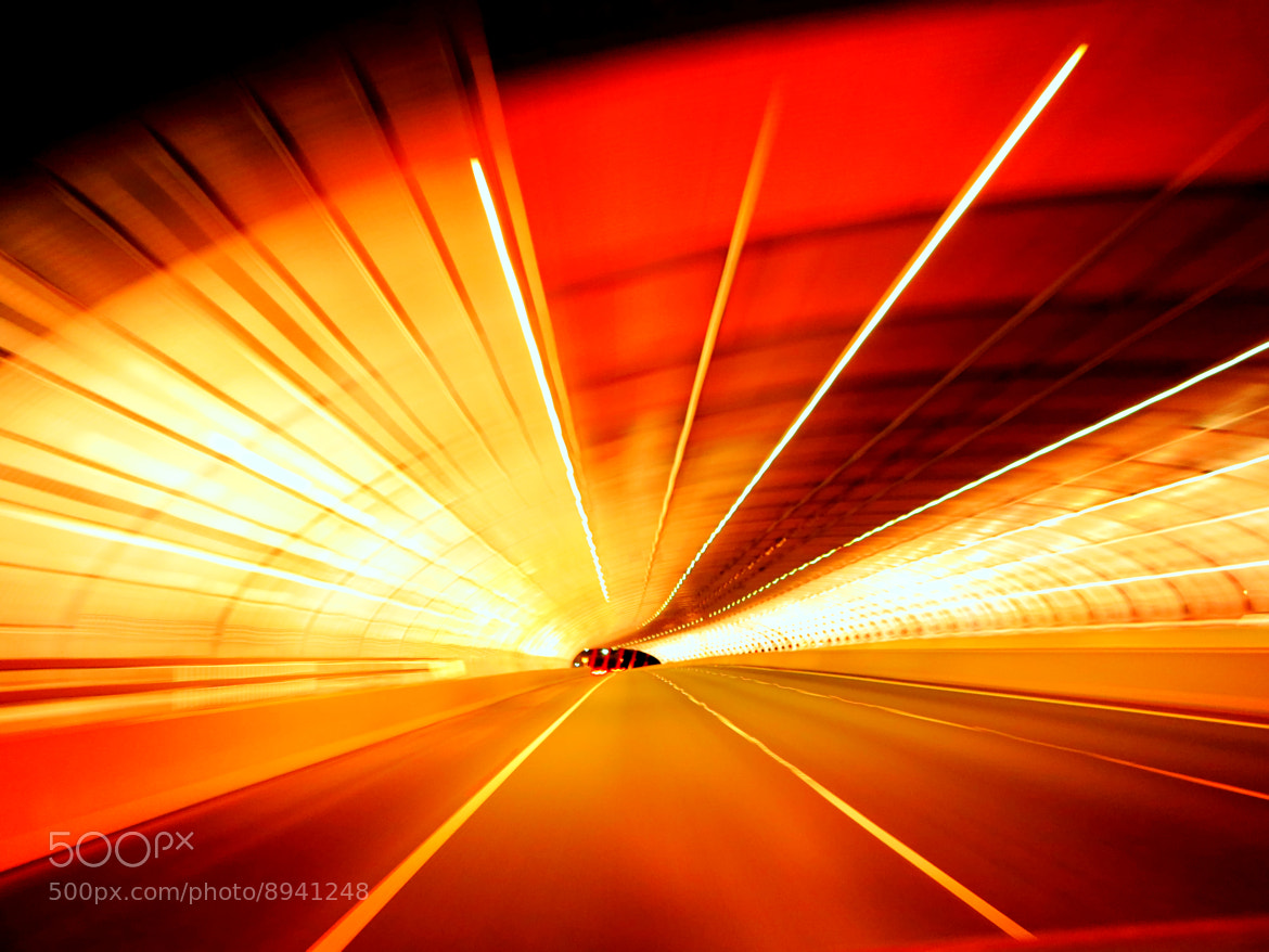 Photograph Tunnel of light by David Santos on 500px