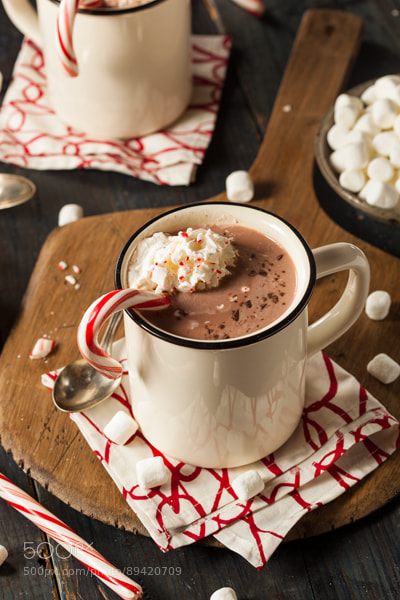 Photograph Homemade Peppermint Hot Chocolate by Brent Hofacker on 500px