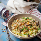������, ������: Pasta with mackerel and pine nuts