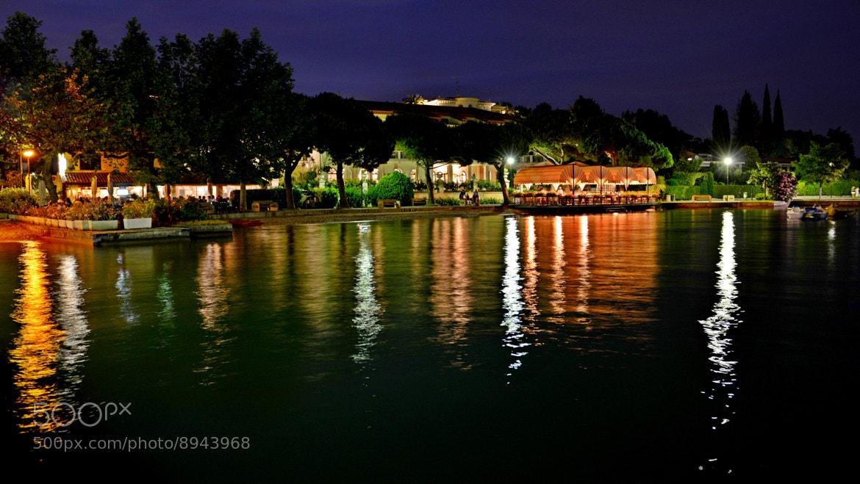 Photograph Garda Lake by night by Umberto Spagnoli on 500px