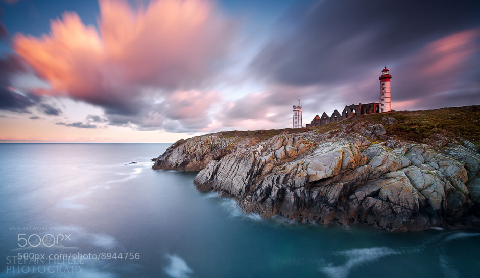 Photograph De Fine Terrae - Pointe Saint-Mathieu by Stefan Hefele on 500px