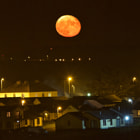 Moon Rising over Tramore, Co. Waterford