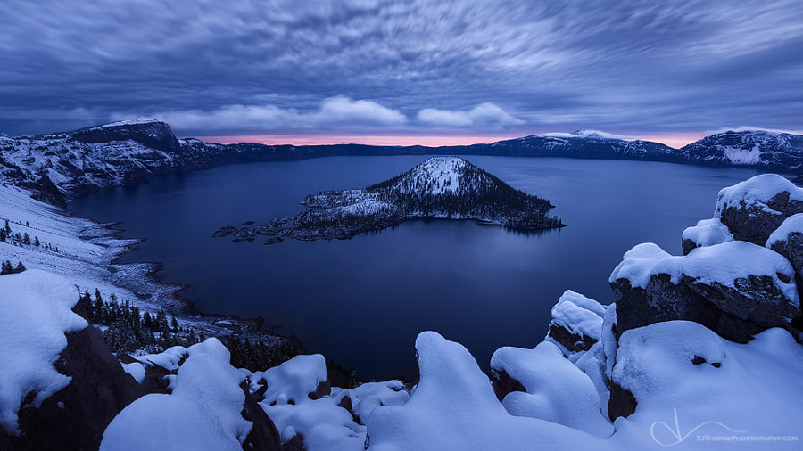 "Frigid Dawn by TJ ""TJ Thorne"" Thorne on 500px.com"