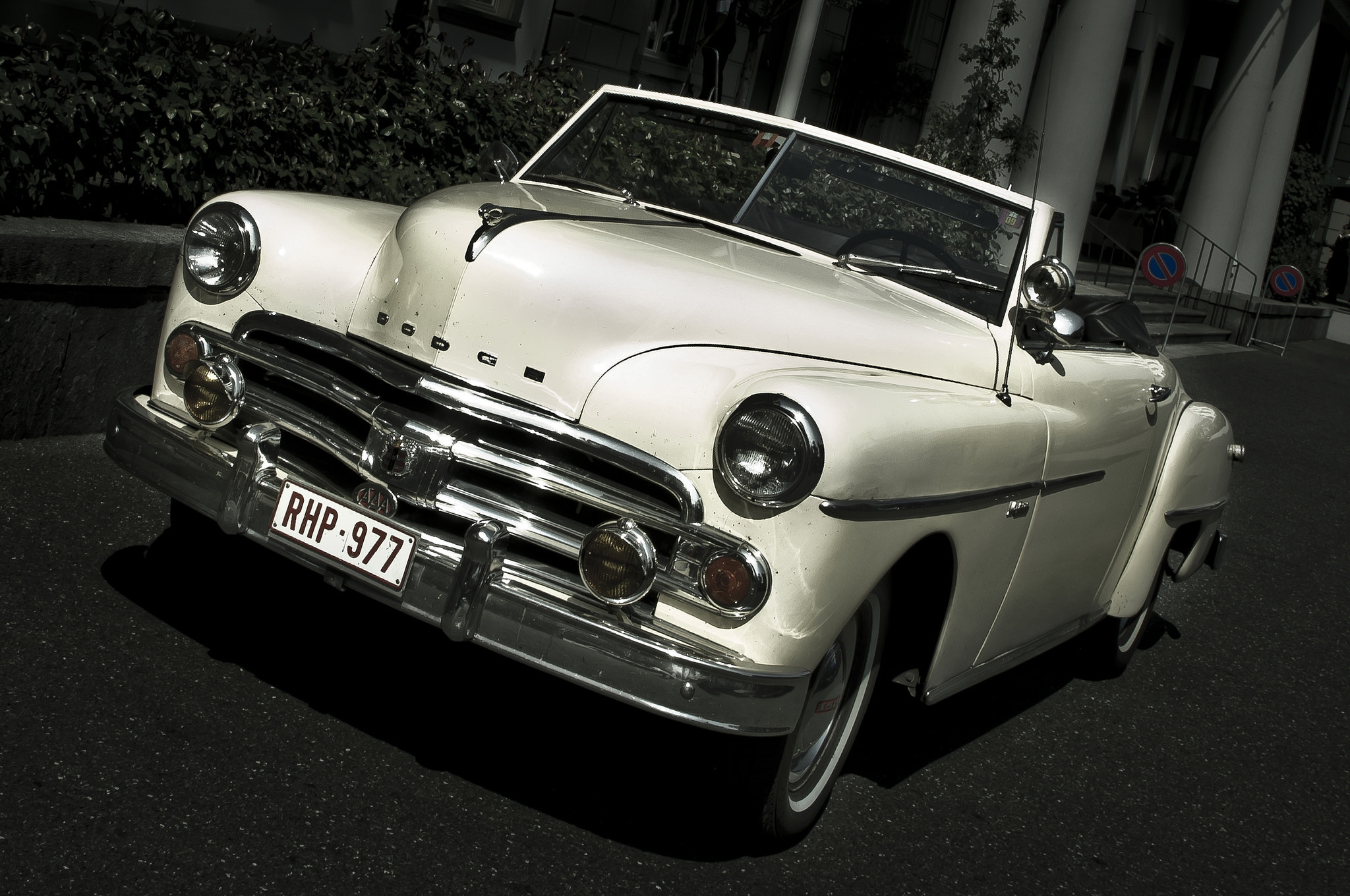 Photograph Dodge Wayfarer Convertible 1949-52 Spotted !!! by AJ  Photography on 500px
