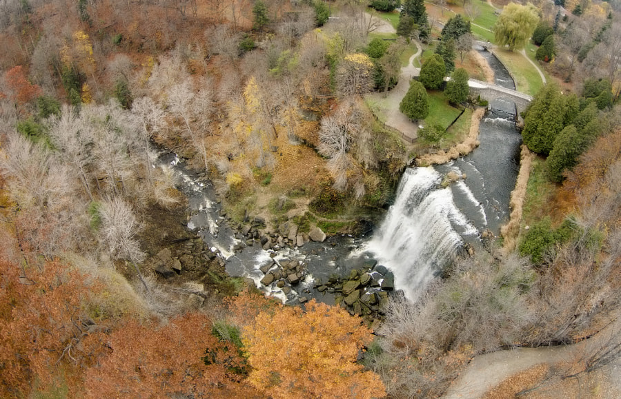 Over the Webster Falls by Evgeny Tchebotarev on 500px.com