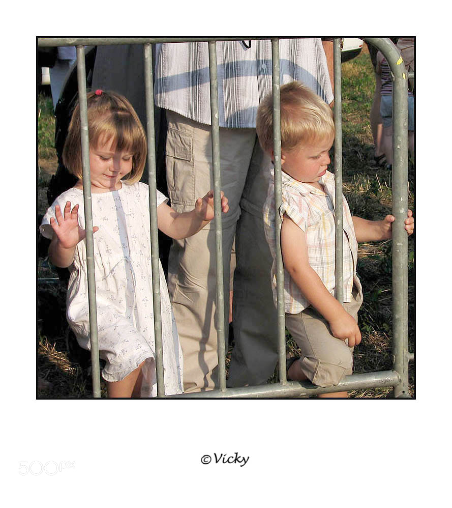 Photograph behind bars  by Vicky Dens on 500px