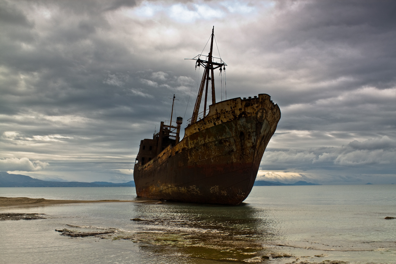 Photograph The wreck by Ilias Katsouras on 500px
