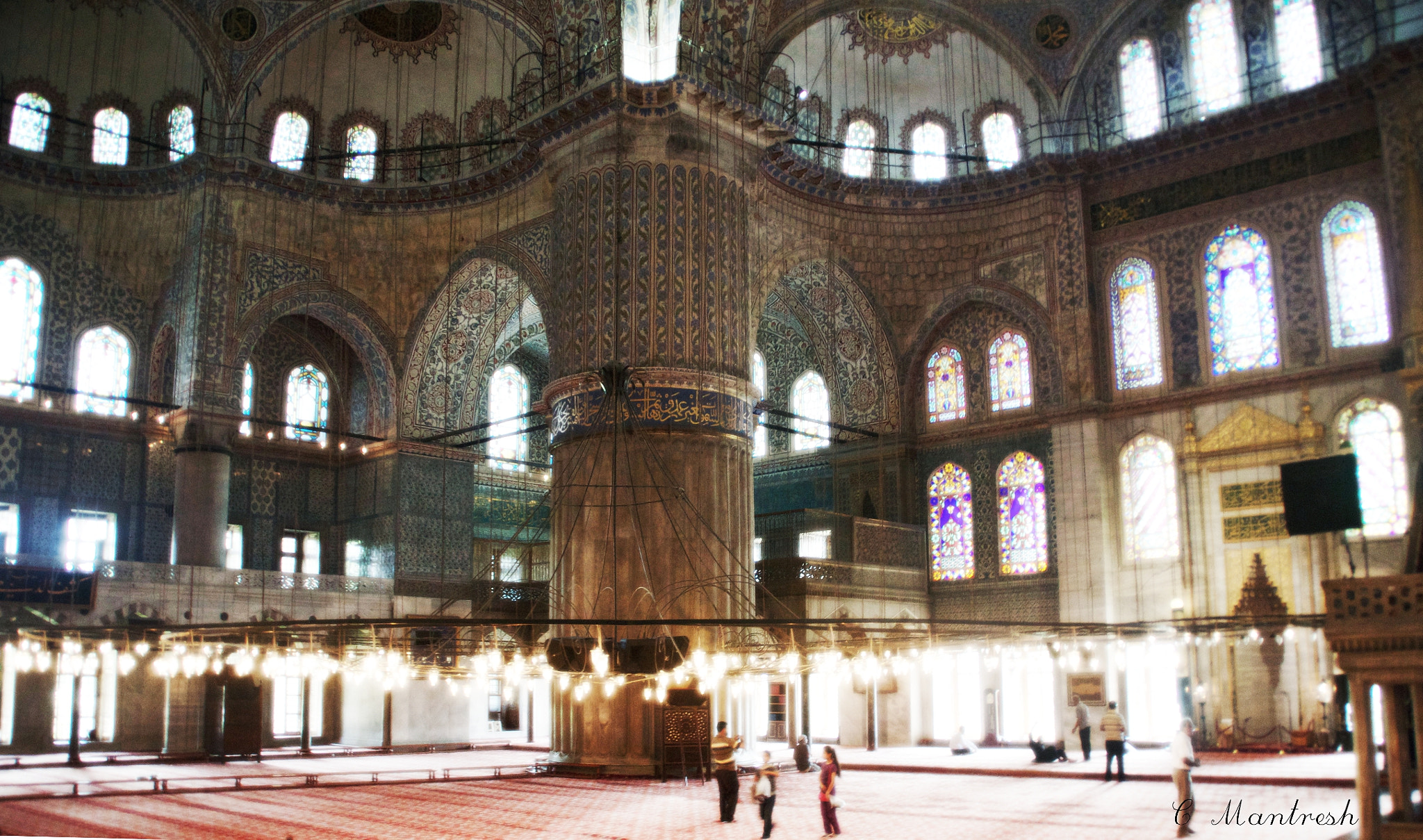 Photograph Sultan Ahmed Mosque blue tiles by Marcin Kabza on 500px