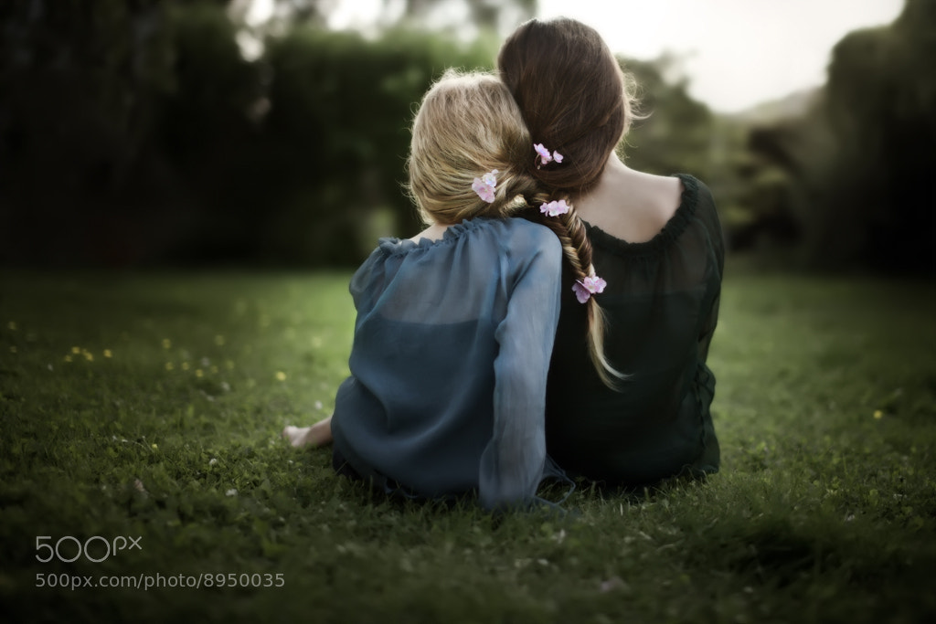 Photograph Sisterly ties by Cath Schneider on 500px