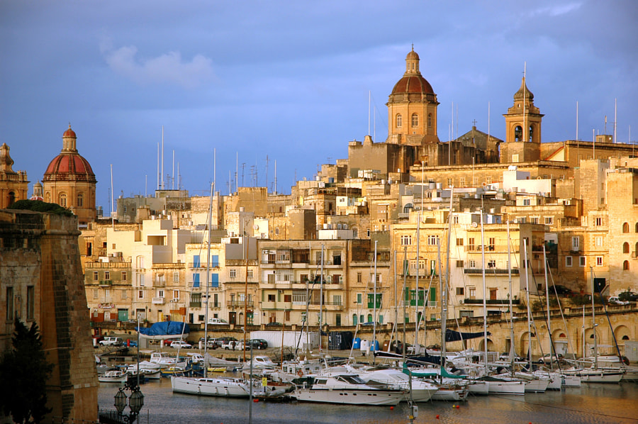 Birgu by Mirari Erdoiza on 500px.com