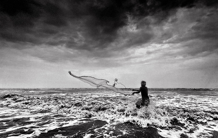 Photograph fishing in monsoon | west bengal by Soumya Bandyopadhyay on 500px
