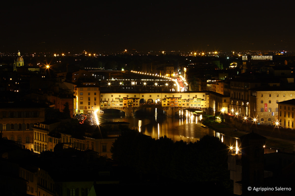 Photograph Ponte Vecchio seen from the Piazzale Michelangelo by Agrippino Salerno on 500px