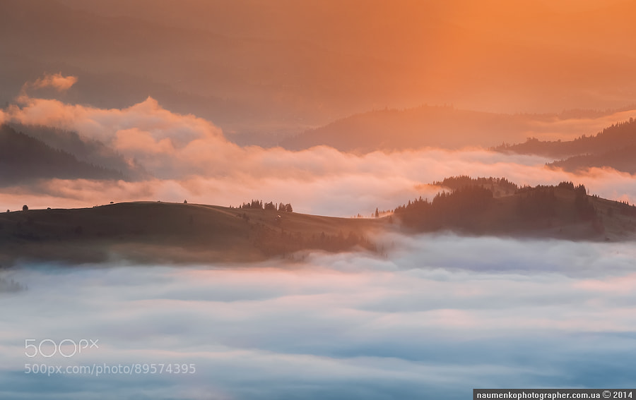 Dzembronya. From a series of Misty River by architecturalphotographer