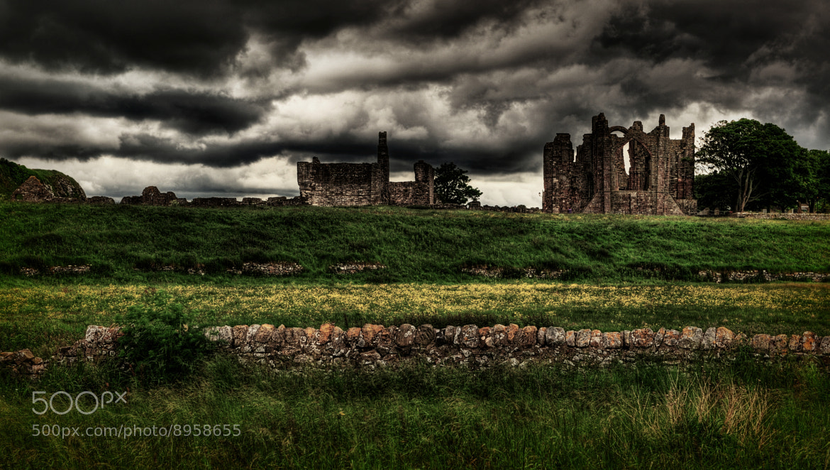 Photograph Lindisfarne Priory by Iain Blake on 500px