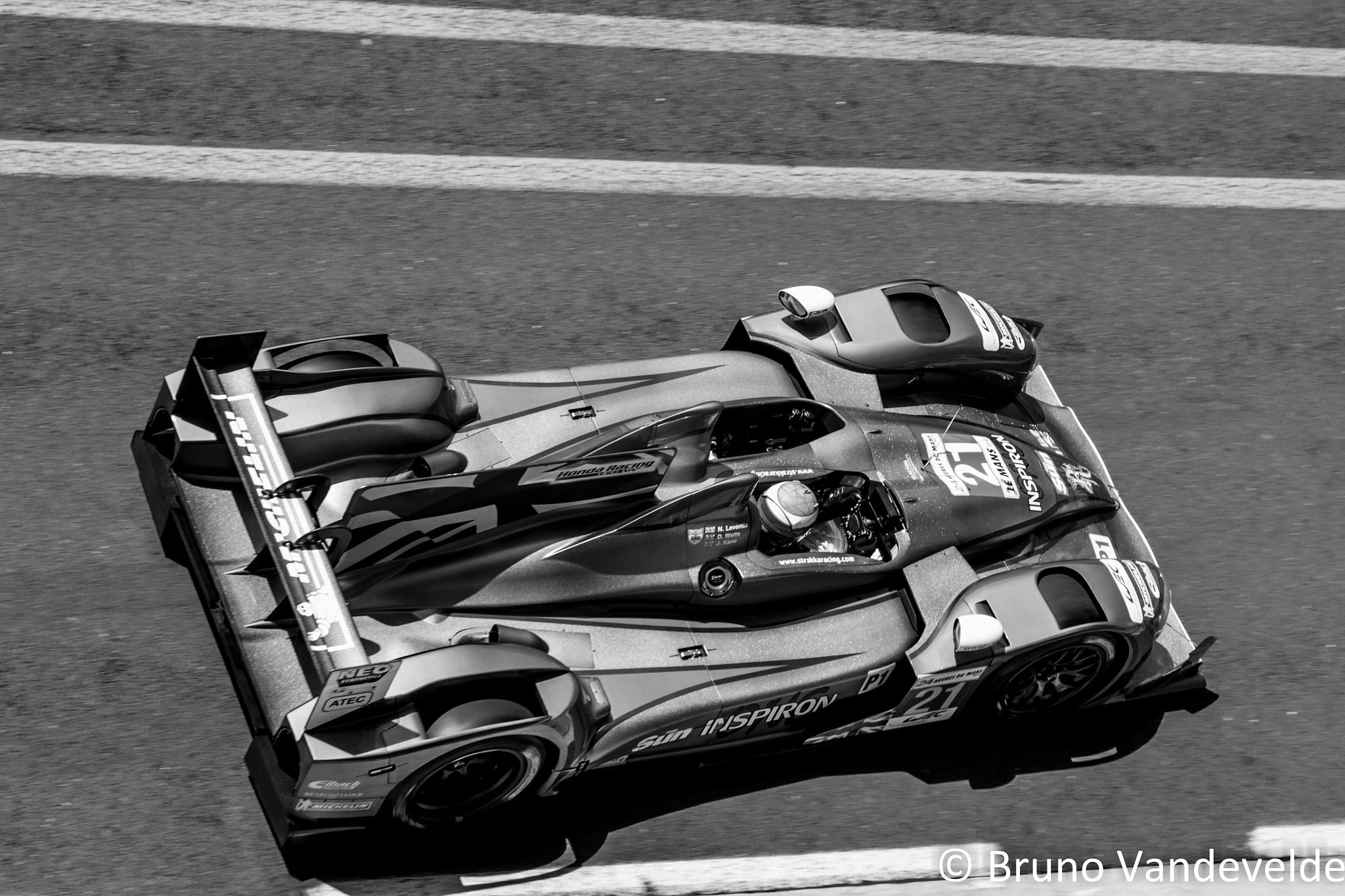 Photograph Strakka Racing - 24h du Mans 2012 by Bruno Vandevelde on 500px