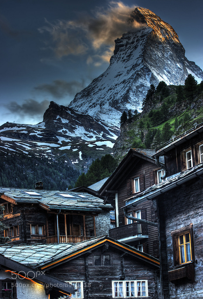Photograph Matterhorn by Rafael Peixoto Ferreira on 500px
