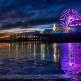 Santa Monica Pier por Matt Daniels (mattdaniels) on 500px.com