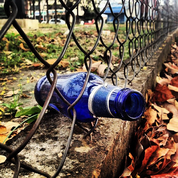Photograph bOttLe aNd FencE by Eduardo Sandoval on 500px