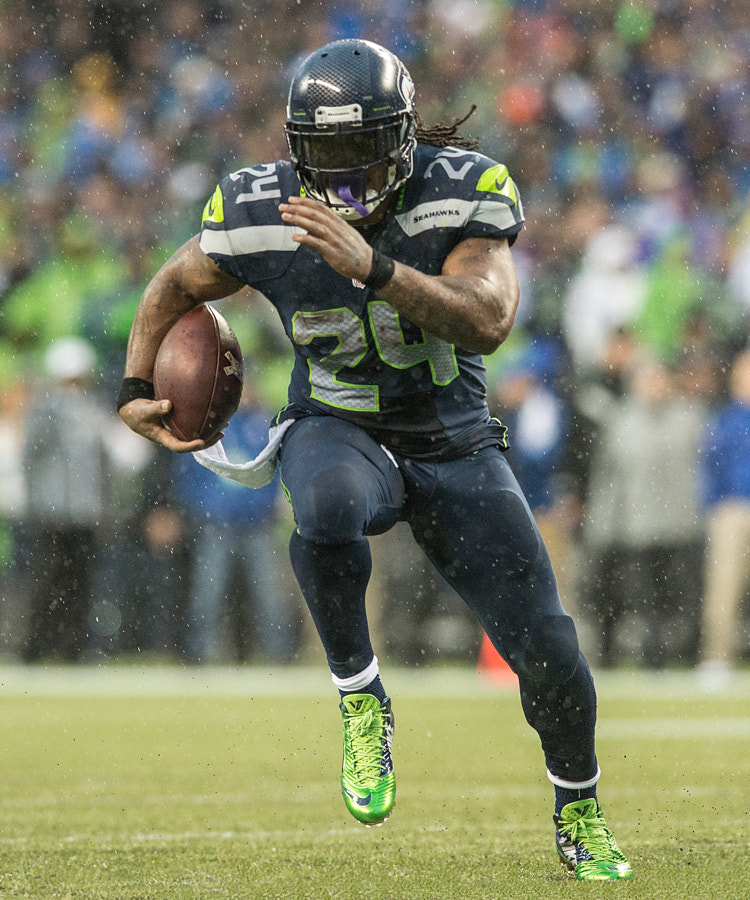 Photograph Beastmode: Marshawn Lynch by Matt McDonald on 500px