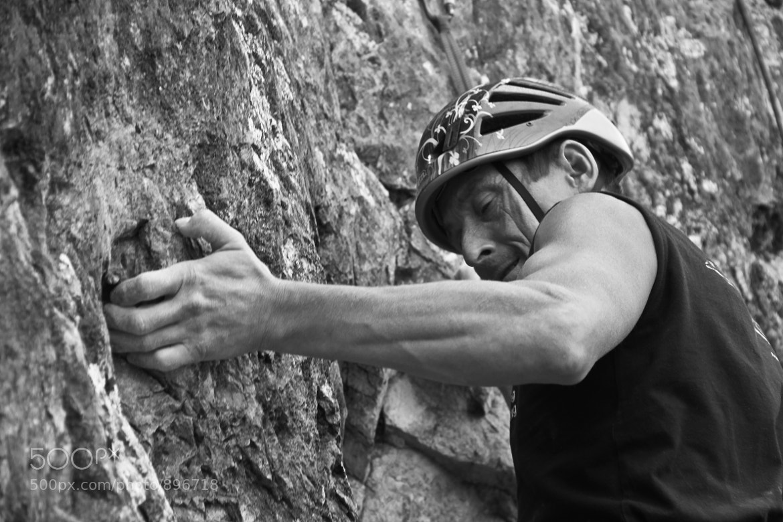 Photograph Rock climber by Anton Navakus on 500px