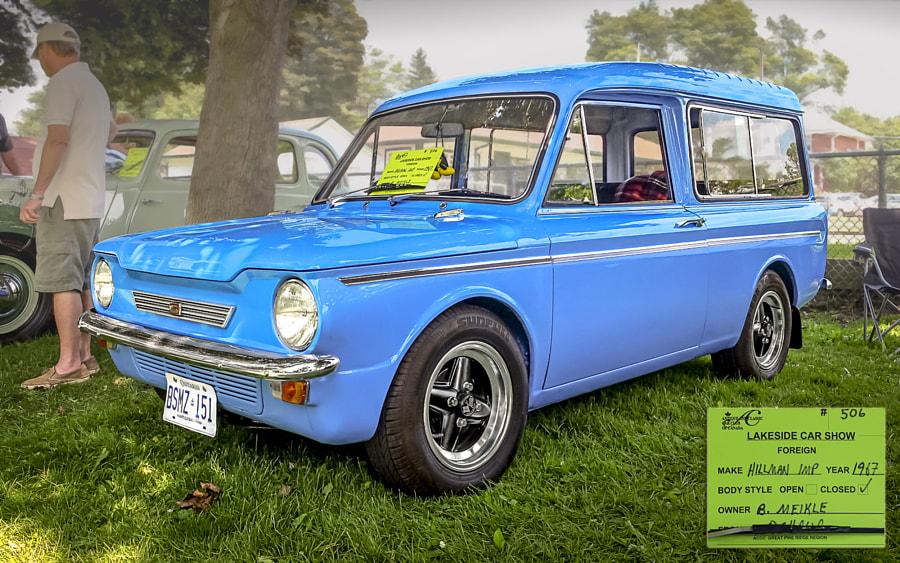 1967 Hillman Imp 2014 Lakeside Antique & Classic Car Show