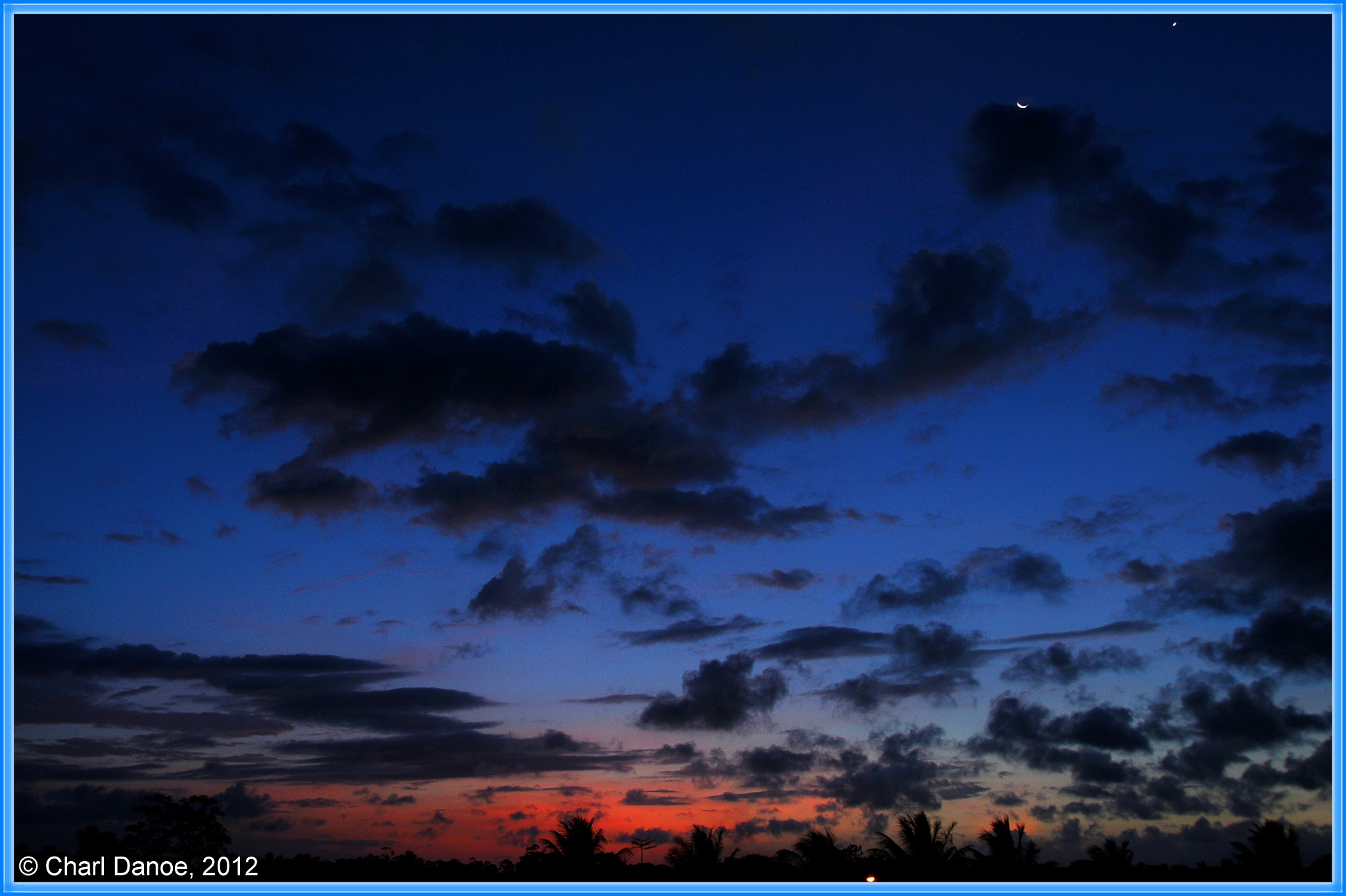 Photograph @ Dawn with moon and Jupiter by Charl Danoe on 500px